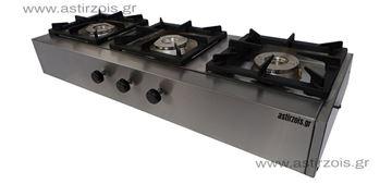Εικόνα της Φλόγιστρο υγραερίου Καλλίστη 3 Eco M, με 3 εστίες