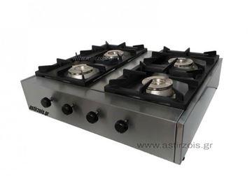 Εικόνα της Φλόγιστρο υγραερίου Καλλίστη 4 Eco M, με 4 εστίες