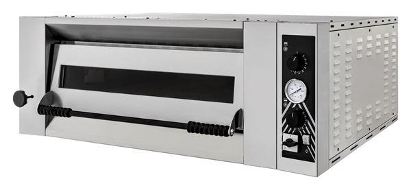 Εικόνα της Φούρνος Πίτσας Ηλεκτρικός SIDEUP 6 PRISMA FOOD, 1 όροφος για 6 πίτσες φ34 εκ