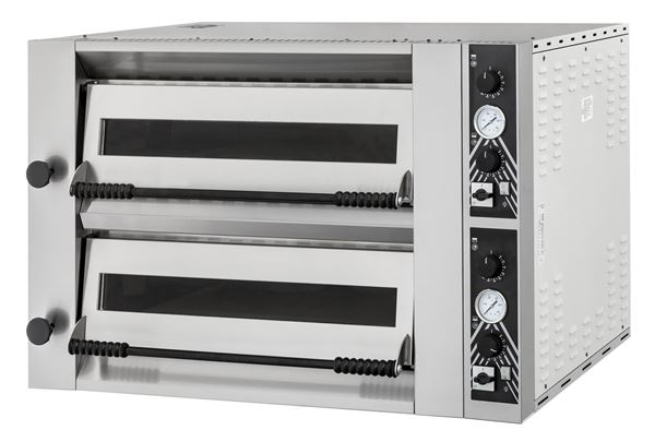 Εικόνα της Φούρνος Πίτσας Ηλεκτρικός SIDEUP 99 PRISMA FOOD, 2 όροφοι για 9+9 πίτσες φ34 εκ