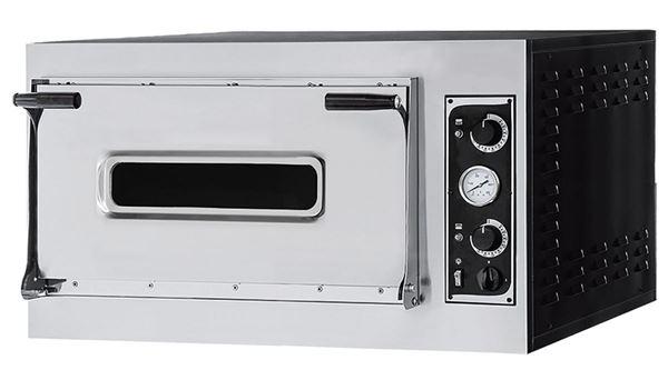 Εικόνα της Φούρνος Πίτσας Ηλεκτρικός TRAYS 6 ALTO PRISMA FOOD, 1 όροφος για 6 πίτσες φ35 η 3 60χ40 cm