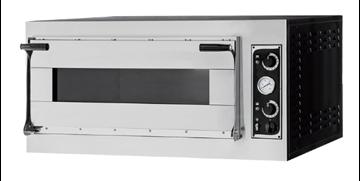 Εικόνα της Φούρνος Πίτσας Ηλεκτρικός TRAYS 4 ALTO GLASS PRISMA FOOD, 1όροφος για 4 πίτσες φ40 ή 2 60χ40 cm