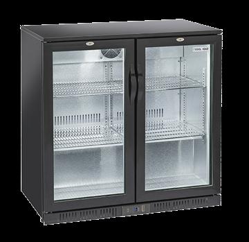Εικόνα της Ψυγείο Back Bar με 2 Ανοιγόμενες Πόρτες Επιτραπέζιο, 90 cm 201 lt