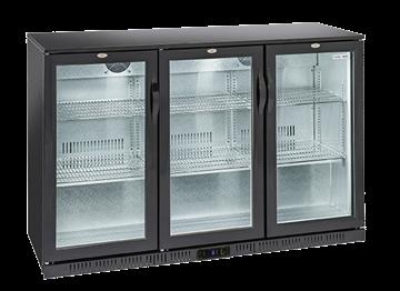 Εικόνα της Ψυγείο Back Bar με 3 Ανοιγόμενες Πόρτες Επιτραπέζιο, 135 cm 320 lt