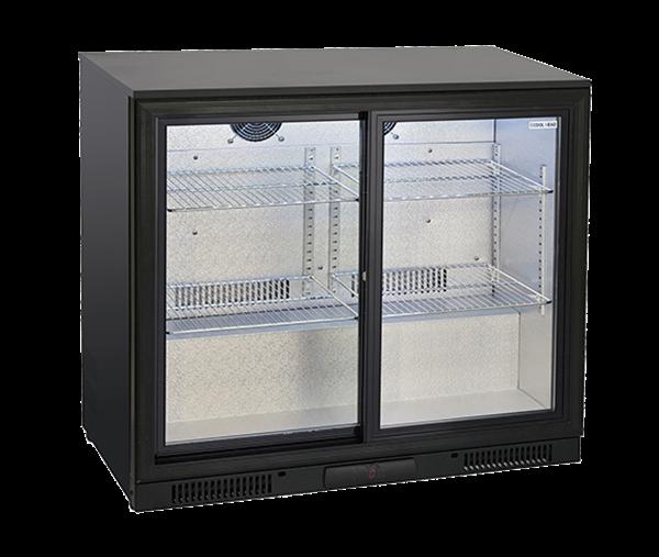 Εικόνα της Ψυγείο Back Bar με Συρόμενες Πόρτες Επιτραπέζιο, 90cm 201 lt