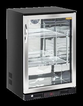 Εικόνα της Ψυγείο Back Bar με 1 Ανοξείδωτη Ανοιγόμενη Πόρτα Επιτραπέζιο, 60 cm 133 lt