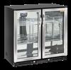 Εικόνα της Ψυγείο Back Bar με 2 Ανοξείδωτες Ανοιγόμενες Πόρτες Επιτραπέζιο, 90 cm 201 lt