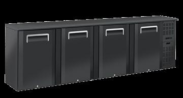 Εικόνα της Ψυγείο Back Bar με 4 Ανοιγόμενες Τυφλές Πόρτες Επιτραπέζιο, 618 lt