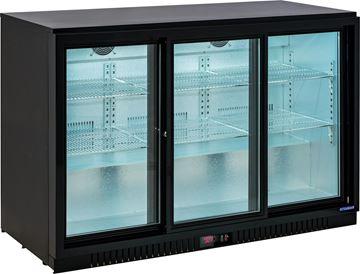Εικόνα της Ψυγείο Back Bar Συντήρηση Επιτραπέζιo Με Συρόμενες Πόρτες, 330 lt, ICG-0330SB INTERCOOL