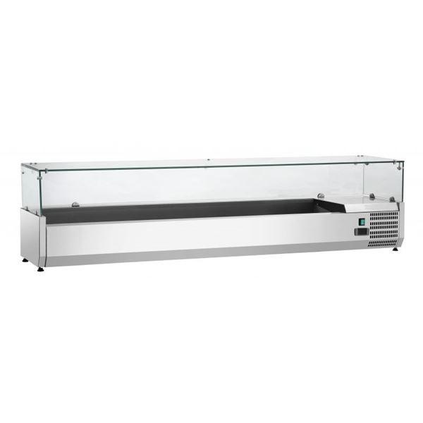 Εικόνα της Ψυγείο Βιτρίνα Σαλατών Επιτραπέζιο, 1.80 m, SAL 1800-38