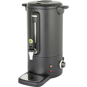Εικόνα της Βραστήρας καφέ 10Lt Concept Line Μαύρος Ματ, HENDI