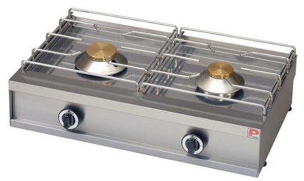 Εικόνα της Φλόγιστρο υγραερίου  με 2 εστίες, GL 250